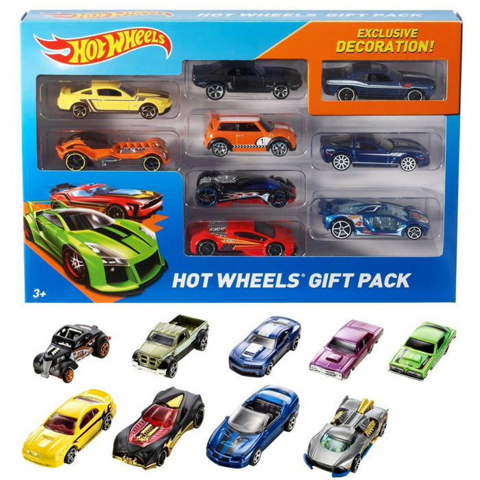 Hot Wheels 9-Car Gift Pack Just $9.47!