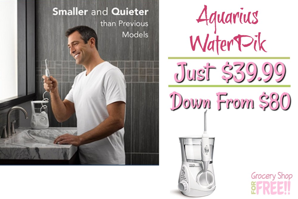 Aquarius WaterPik Just $39.99! Down From $80!