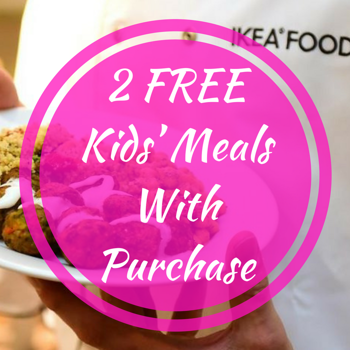 2 FREE Kids' Meals With Purchase!