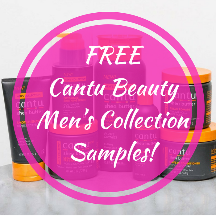 FREE Cantu Beauty Men's Collection Samples!