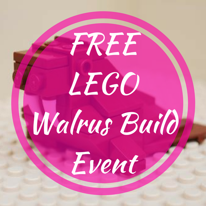FREE LEGO Walrus Build Event!