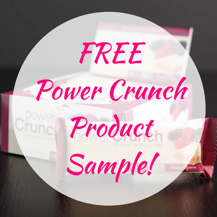 FREE Power Crunch Product Sample!