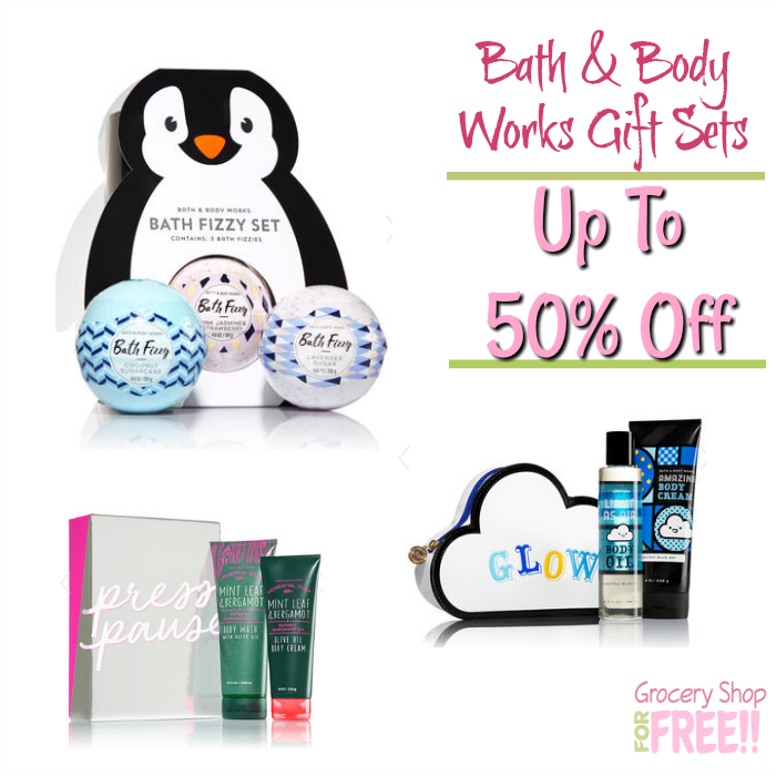 Bath & Body Works Gift Sets Up To 50% Off!