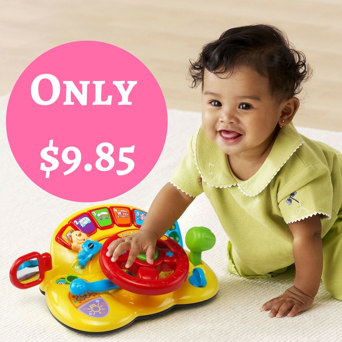 VTech Turn And Learn Driver Just $9.85! Down From $40!