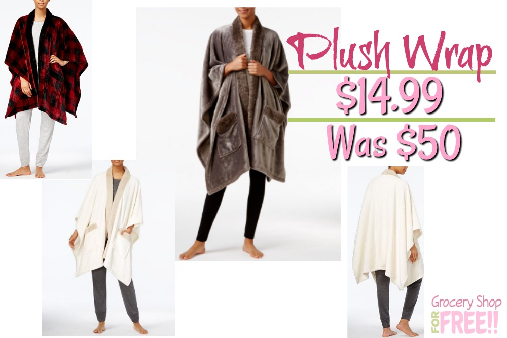 Cozy Plush Wrap Just $14.99! Down From $50!
