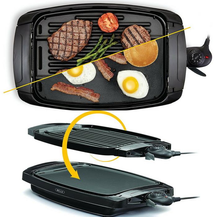 Bella 2-In-1 Reversible Griddle Just $29.93! Down From $50! PLUS FREE Shipping!