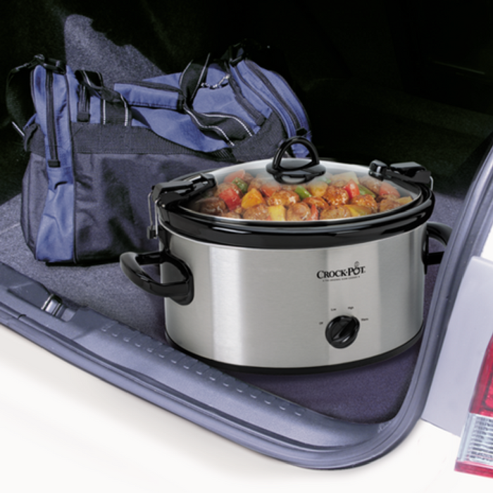 Crock-Pot Cook' N Carry 6-Quart Slow Cooker Just $20.39! Down From $50!
