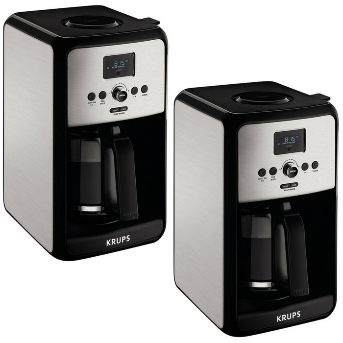KRUPS 12-Cups Coffee Maker Just $35.99! Down From $100! PLUS FREE Shipping!