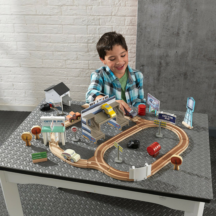 KidKraft 50-Piece Wooden Track Set Just $34.37! Down From $85! PLUS FREE Shipping!