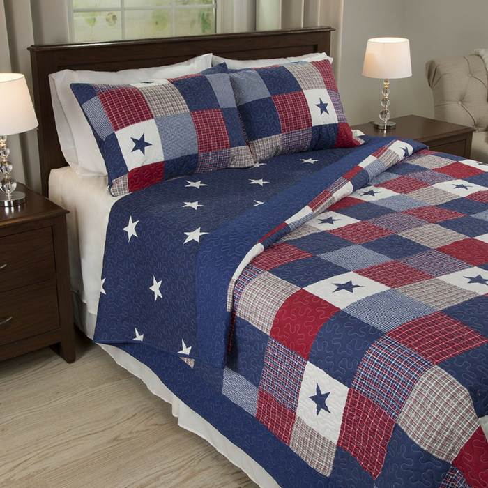 3-Piece Quilt Set Just $40.64! Down From $80! PLUS FREE Shipping!