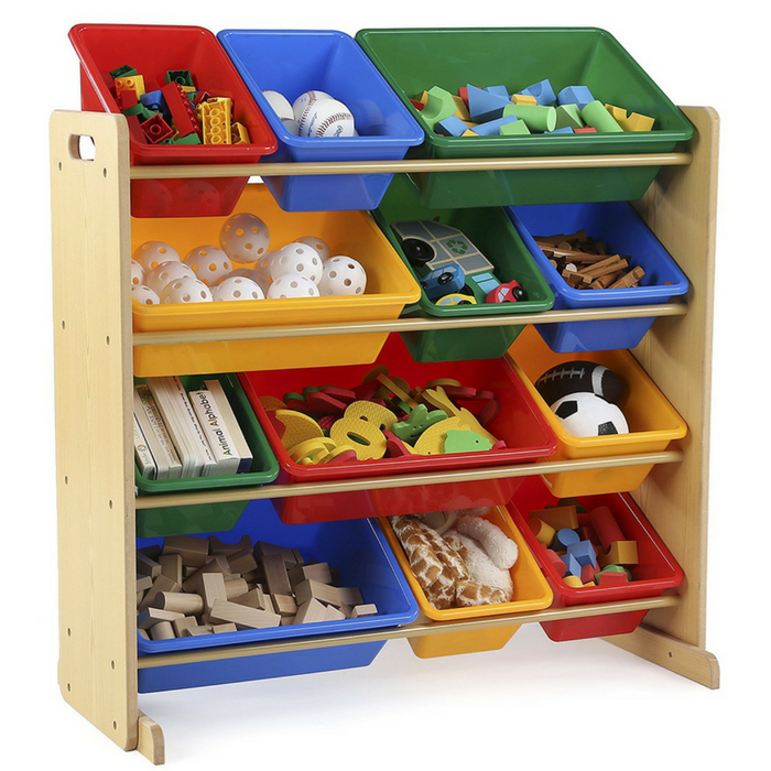 Tot Tutors Toy Organizer With Bins Just $48.60! Down From $92! PLUS FREE Shipping!