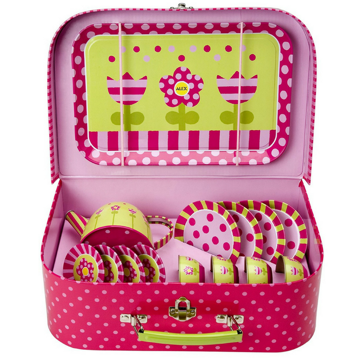 ALEX Toys Tin Tea Set Just $10.39! Down From $35!
