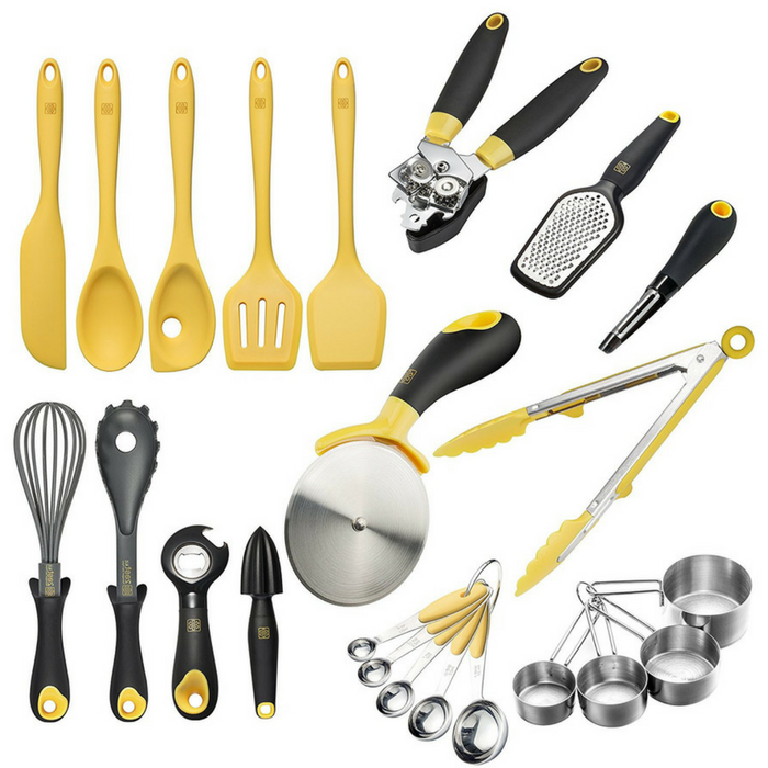 Deluxe Silicone Cooking Utensils 23-Piece Set Just $38.88! Down From $140! PLUS FREE Shipping!