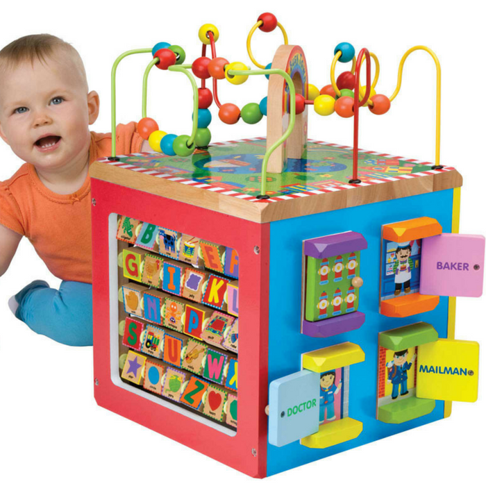 Alex Toys Wooden Activity Cube Just $56.50! Down From $110! PLUS FREE Shipping!