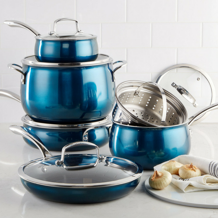 Belgique 11-Piece Cookware Set Just $104.99! Down From $300! PLUS FREE Shipping!