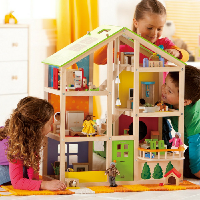 Kid's Wooden Doll House Just $109.99! Down From $200! PLUS FREE Shipping!