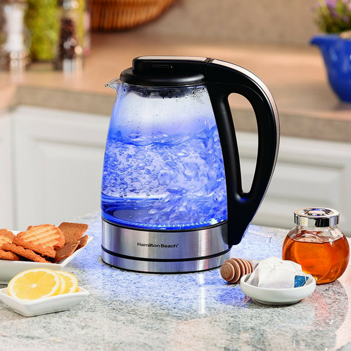 Hamilton Beach Glass Electric Kettle Just $21.59! Down From $50!