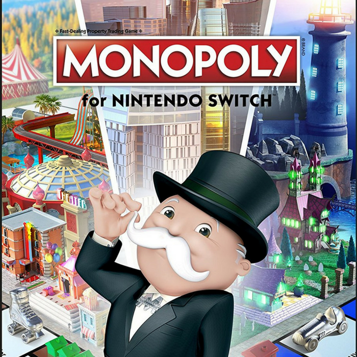 Nintendo Switch Monopoly Game Just $19.99! Down From $40!