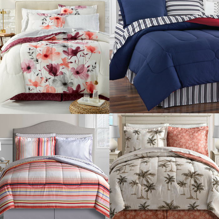 8-Piece Comforter Sets Just $39.99! Down From $100! PLUS FREE Shipping! TODAY ONLY!