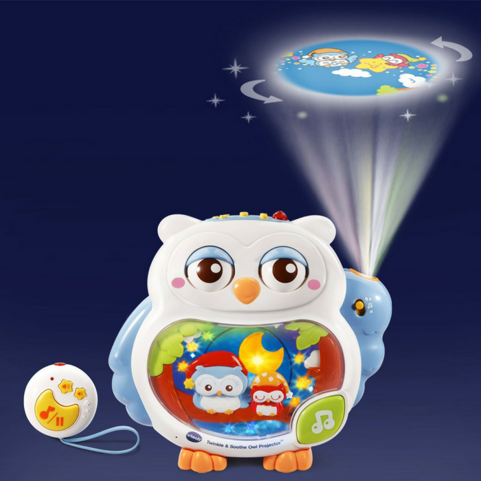 VTech Twinkle & Soothe Owl Projector Just $13.87! Down From $35!