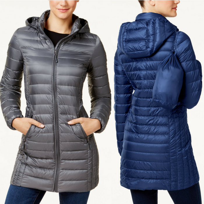 Packable Down Puffer Coat Just $79.99! Down From $150! PLUS FREE Shipping!