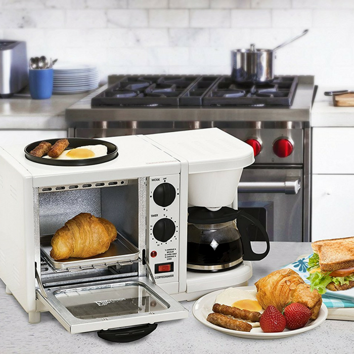3-In-1 Multifunction Breakfast Center Just $26.24! Down From $48! PLUS FREE Shipping!