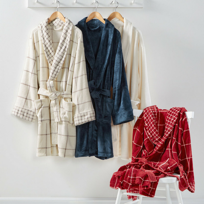 Martha Stewart Plush Bath Robe Just $23.99! Down From $60!