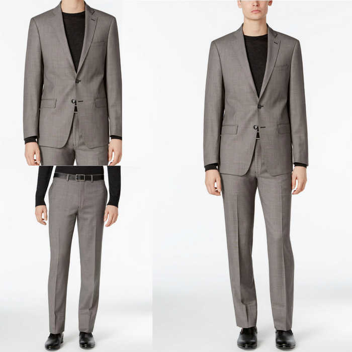 Calvin Klein Men's Suit Just $104.99! Down From $650! PLUS FREE Shipping!