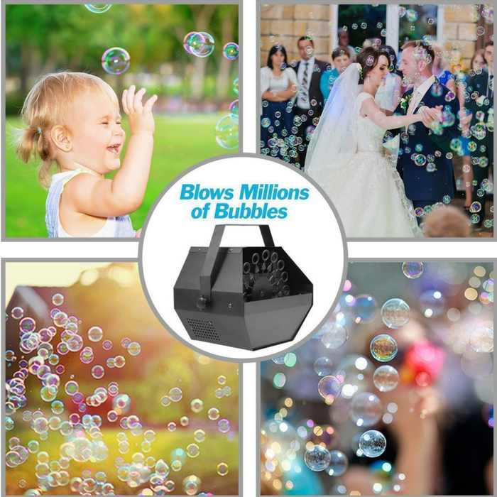 Wireless Bubble Machine Just $27.99! Down From $90! PLUS FREE Shipping!