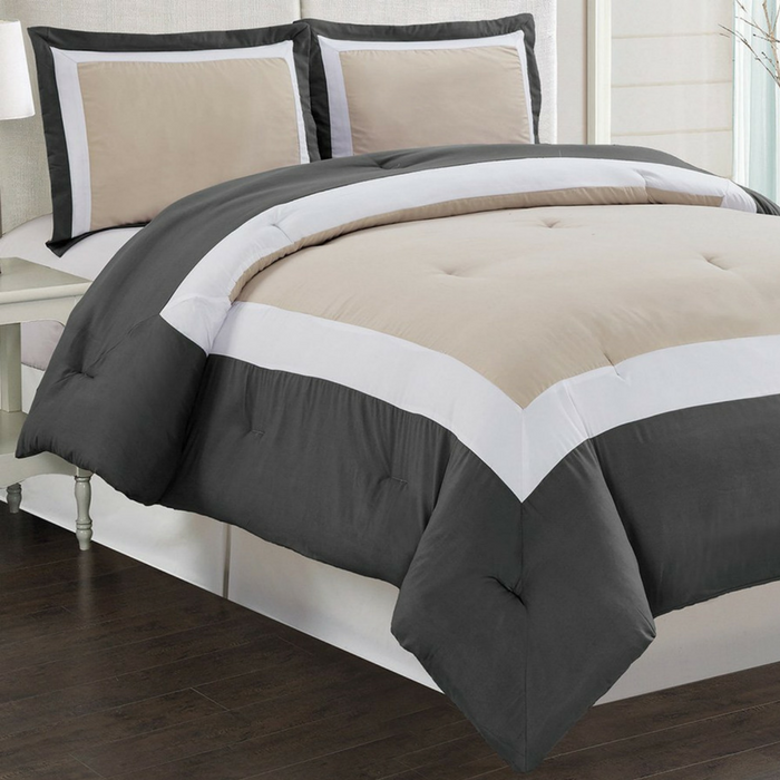 3-Piece Down Alternative Comforter Set Just $49! Down From $119! PLUS FREE Shipping!