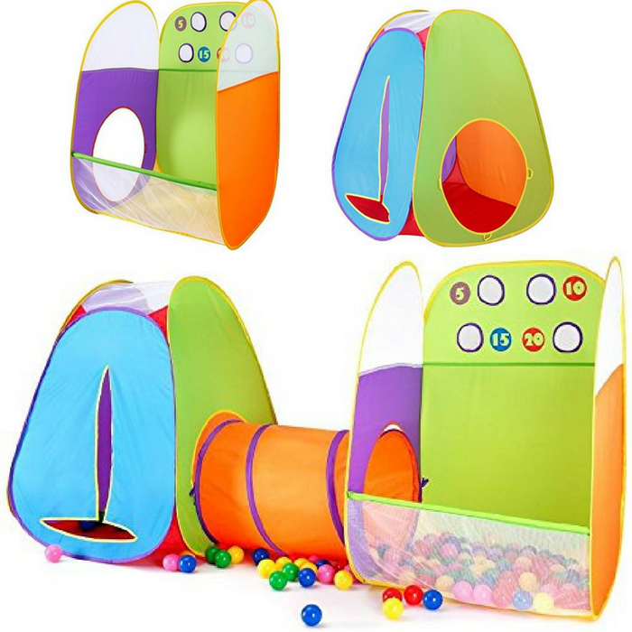 3-In-1 Pop-Up Tent Play Just $36.99! Down From $70! PLUS FREE Shipping!