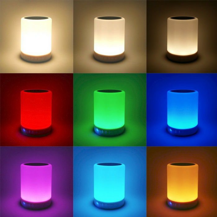 Bluetooth Speaker Lamp Just $30.95! Down From $70! PLUS FREE Shipping!