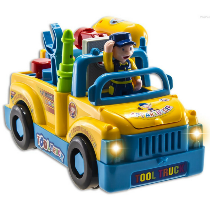Kids Truck Tool Set Just $27.94! Down From $60! PLUS FREE Shipping!