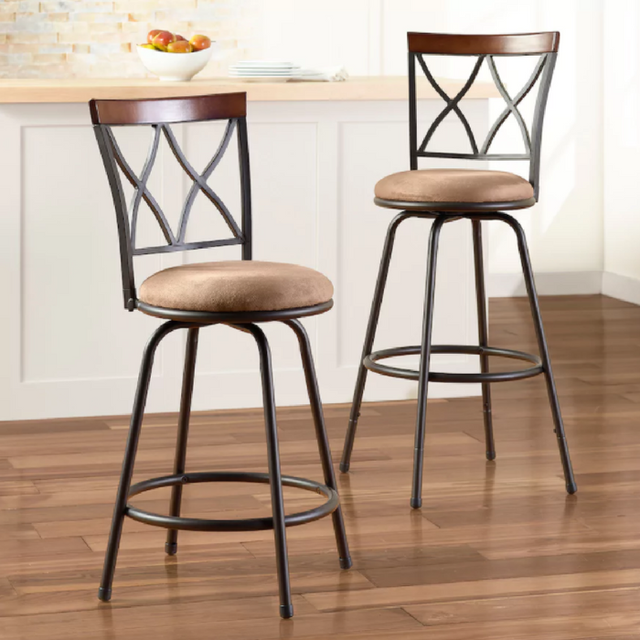 2-Pack Swivel Stools Just $59.99! Down From $150! PLUS FREE Shipping!