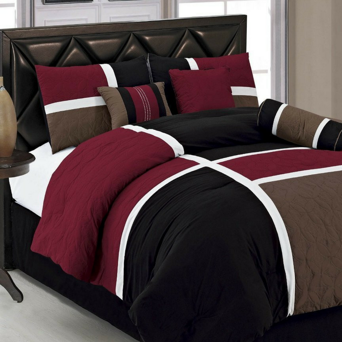 7-Piece Quilted Comforter Set Just $59.99! Down From $130! PLUS FREE Shipping!
