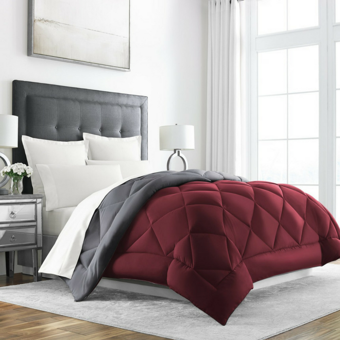 Goose Down Alternative Reversible Comforter Just $37.95! Down From $61! PLUS FREE Shipping!