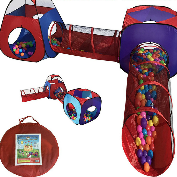 4-Piece Children Play Tent Just $44.95! Down From $100! PLUS FREE Shipping!