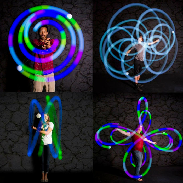 LED Poi Kit Just $24.99! Down From $50!