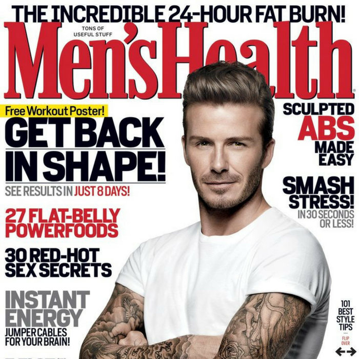 FREE Men's Health Magazine Subscription!