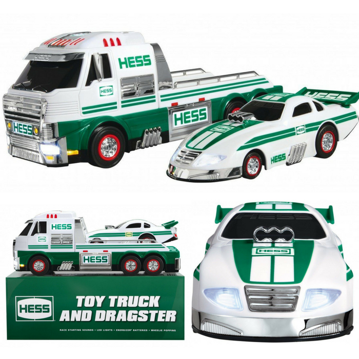 Hess Toy Truck And Dragster Just $35.98! Down From $76! PLUS FREE Shipping!