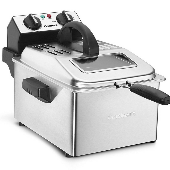 Cuisinart 4-Quart Deep Fryer Just $65.64! Down From $165! PLUS FREE Shipping!