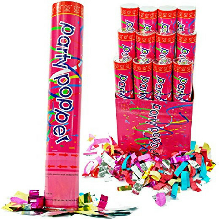 Party Poppers 12-Pack Just $19.88! Down From $30!