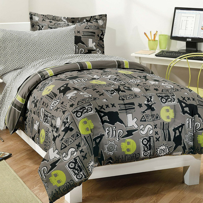 Skateboarding Boys Comforter Set Just $59.98! Down From $90! PLUS FREE Shipping!