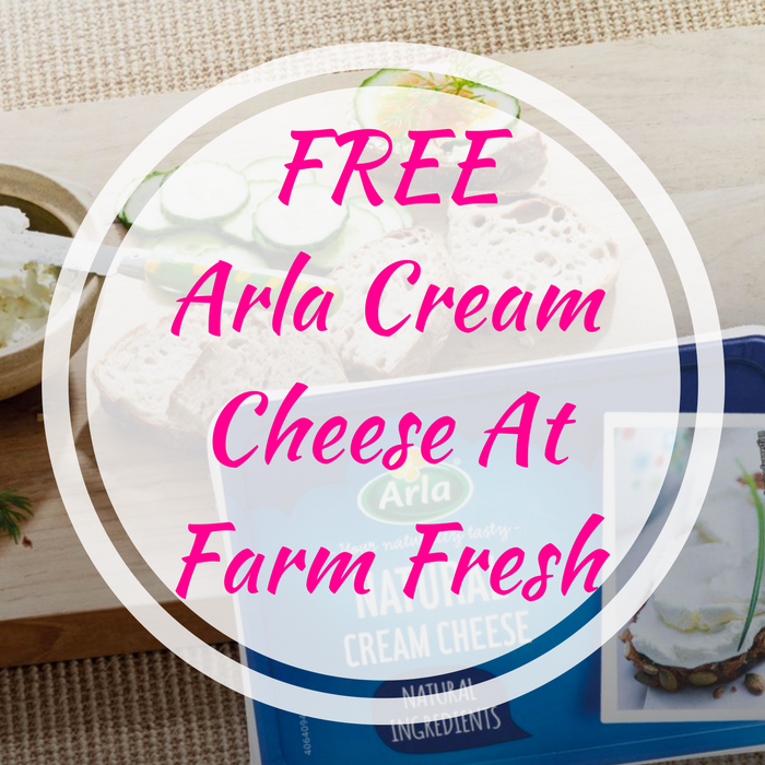 FREE Arla Cream Cheese At Farm Fresh!