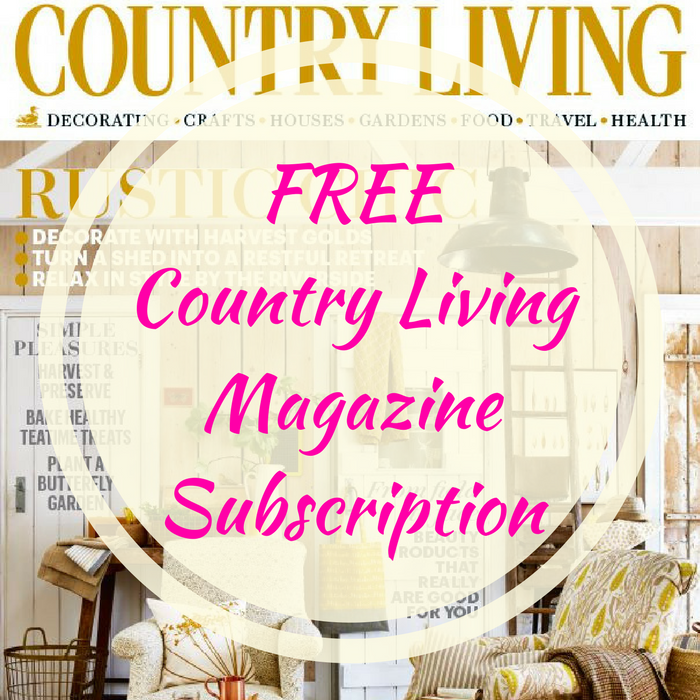 FREE Country Living Magazine Subscription!