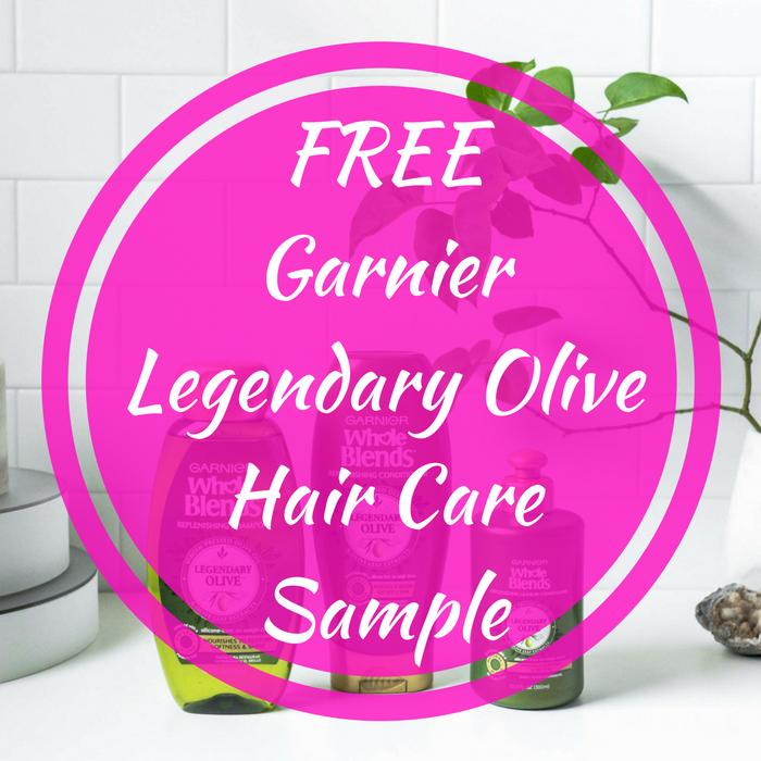 FREE Garnier Legendary Olive Hair Care Sample!