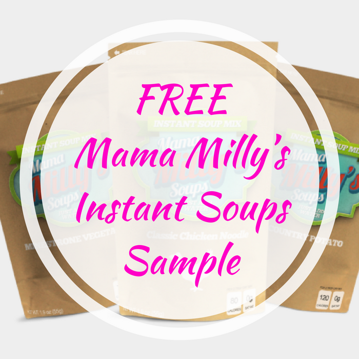 FREE Mama Milly's Instant Soups Sample!