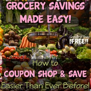 Grocery Savings Made Easy!