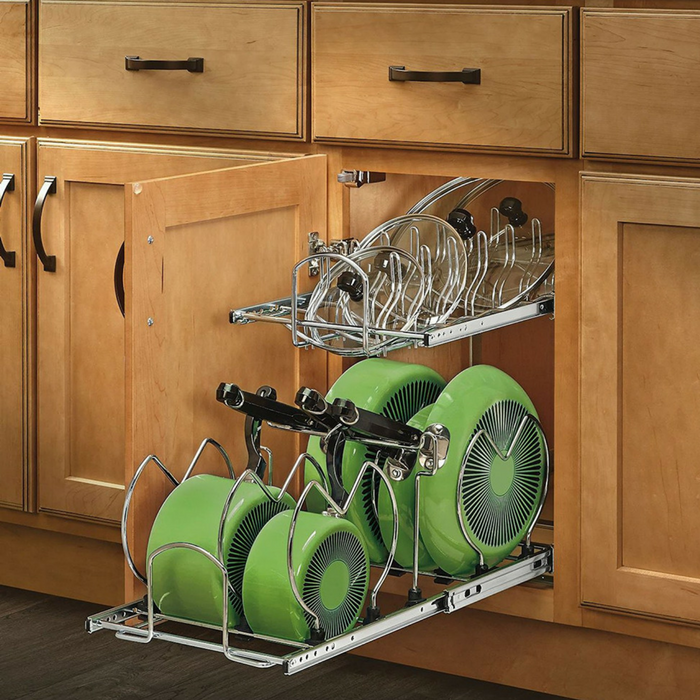 2-Tier Cookware Organizer Just $77.99! Down From $150! PLUS FREE Shipping!