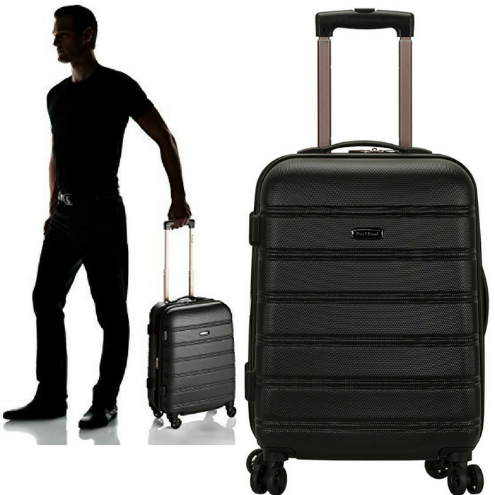 Rockland 20-Inch Luggage Just $33.99! Down From $120! PLUS FREE Shipping!